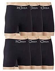 Zorba Kit 6 Cueca Boxer sem costura