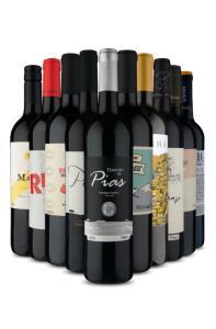 Kit 10 Vinhos Tintos 3 Países | R$280