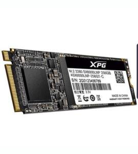 SSD Adata XPG SX6000 Lite, 256GB, M.2 NVMe, Leitura 1800MB/s, Gravação 900MB/s