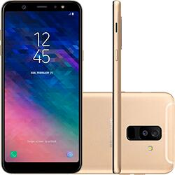 Samsung Galaxy A6+ 64GB - Dourado | R$ 699