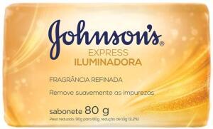 [PRIME] Sabonete Barra Express Iluminadora, Johnson's, 80 g   R$ 0,89
