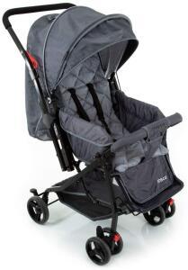 Carrinho de Bebê Happy - Cinza R$ 270