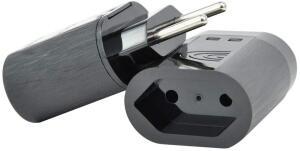 iCLAMPER Pocket 2P - 10A Preto R$ 26