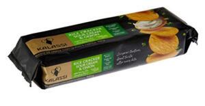 Biscoito de arroz Kalassi Sour Cream & Onion | R$ 9,87