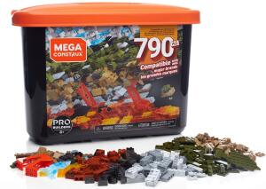 [Prime] Caixa Pro Blocos de Montar, 790 peças, Mega Construx, Mattel R$ 118