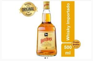 Whisky White Horse 500 ml R$ 23,91