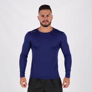 Camisa Penalty Matis IX UV Manga Longa Marinho