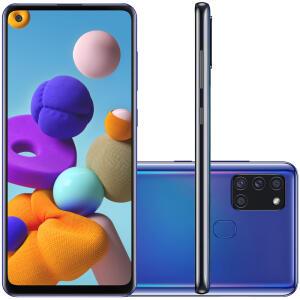 Samsung Galaxy A21s 64GB - R$ 1.281,55