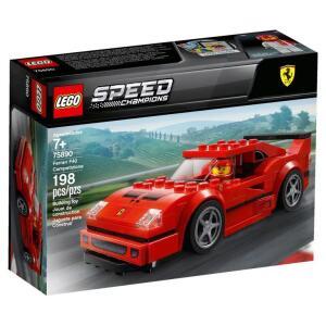 LEGO Speed Champions Ferrari F40 Competizione 75890 - 198 Peças - R$69,90