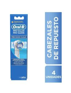 [ PRIME ] Refil Escova Elétrica Pro-Saúde Precision Clean 4 Unidades, Oral B | R$ 65