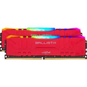 Memória Crucial Ballistix Sport LT, RGB, 16GB (2x8), 3600MHz | R$650