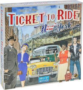 Ticket To Ride New York, Galápagos Jogos