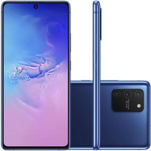 [R$750 de Cashback] Kit De Oferta: Samsung Galaxy S10 Lite Azul 128GB + Galaxy Fit | R$2.699