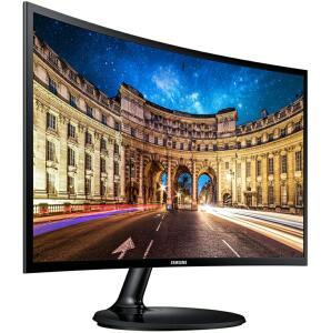 """[R$979,99 C.C Submarino + AME] Monitor LED 27"""" Full HD Samsung Curvo Lc27f390 Free Sync Preto"""