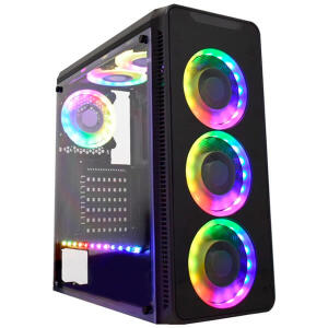 CG-05G8 INFINITY V RGB 3 FAN + FITA PRETO K-MEX UND | R$339