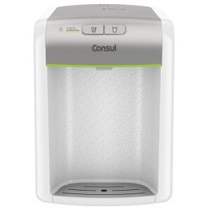 [445] Purificador De Água Consul Prata Refrigerado, Com Proteção Antibactérias
