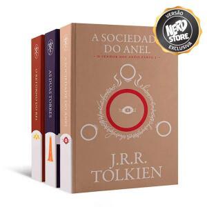 Trilogia de Livros – O Senhor Dos Anéis – Versão Exclusiva Nerdstore | R$ 150
