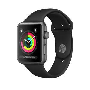 Apple Watch Series 3 MTF32BZ/A GPS, 42 mm, Caixa Cinza-Espacial de Alumínio | R$ 1709