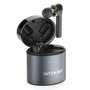 Fone de ouvido TWS Dual Dynamic Driver Blitzwolf® BW-FYE8 Controle Touch | R$186