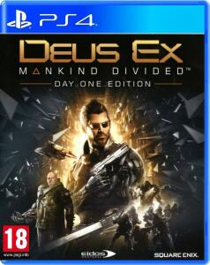 Deus Ex: Mankind Divided - Edição Digital Deluxe PS4 - PSN