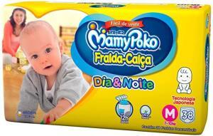 Fralda Calça Mamypoko R$35