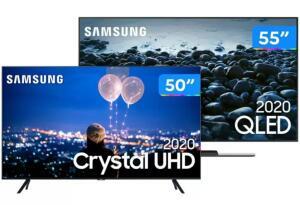 Combo Smart TVs Samsung R$6198