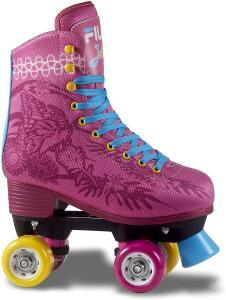 Patins Quad Fila Juliet Infantil Fila Skates Meninas R$352