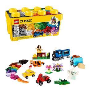 [Prime] LEGO Classic caixa média de peças criativas (484 peças)