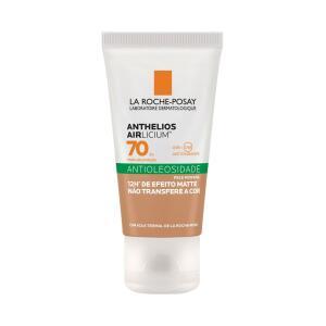 Protetor Solar Facial Antioleosidade La Roche-Posay Anthelios Airlicium Protetor Solar Fps70 Pele Morena 40g