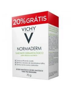 Sabonete Dermatológico Facial Normaderm Vichy - 70g