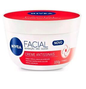NIVEA Creme Antissinais - Anti-Idade 100g | R$17