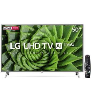 "Smart TV LED 50"" UHD 4K LG 50UN8000PSD | R$2.349"