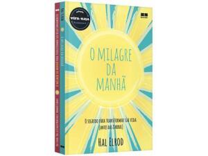 [Clube do Lu/De volta R$ 5]Livro Milagre da Manhã & Milagre da Manhã - | R$ 18