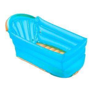 Banheira Inflável Bath Buddy Multikids Baby Azul | R$ 50