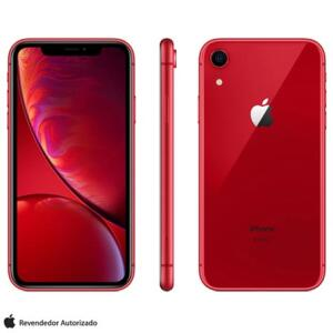 iPhone XR 64GB - Vermelho - R$3200