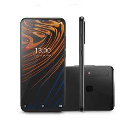 Smartphone Multilaser H 4G 128GB 6GB RAM Tela 6,3 Pol. Full HD Câmera Tripla Traseira + Selfie Preto - P9116   R$ 1388