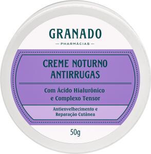 Creme Noturno Antirrugas 50g | R$69
