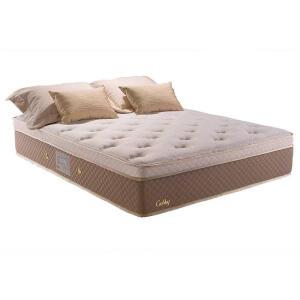 Colchão King Gobby Herval, Molas Ensacadas , 34X193x203, One Side Pillow | R$1..538