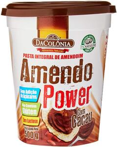 [PRIME] Pasta De Amendoim Amendopower c/ Cacau Zero 500g