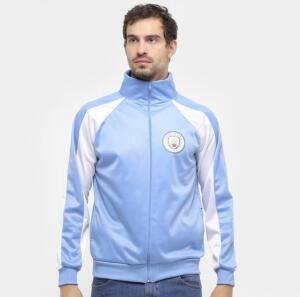 Jaqueta Manchester City Trilobal Recortes Masculina - Spr