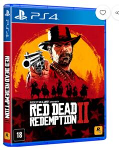 [1ª Compra] Game - Red Dead Redemption 2 - PS4 - Mídia Física