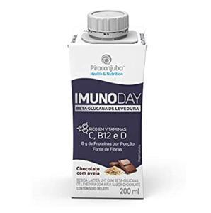 [PRIME] Bebida Láctea Piracanjuba Imunoday Sabor Chocolate com Aveia 200ml