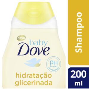 [Leve 3 Pague 2] Shampoo Infantil Baby Dove - Hidratação Glicerinada 200ml