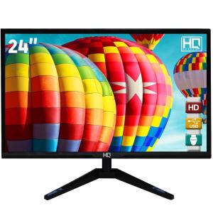 "Monitor LED 24"" HQ Widescreen Full HD 24HQ-LED HDMI"