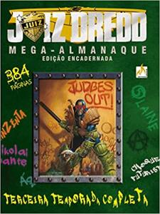 [Prime] Juiz Dredd Mega-Almanaque - Volume 3 - 384 páginas