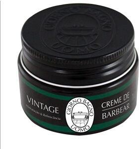 [Prime] Creme de Barbear Vintage - Giorno Uomo - Verde/100g | R$ 4