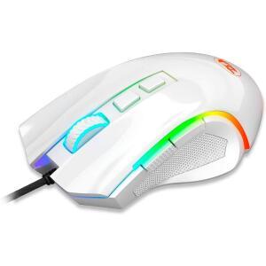 Mouse Redragon Gamer Griffin M607 RGB, 7200 DPI, 6 Botões, White | R$ 99