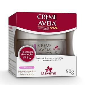 Creme Hidratante Facial Aveia Hipoalergênico 50g - Davene | R$ 8