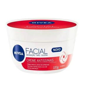 Creme Facial Nivea Antissinais 100g | R$ 7