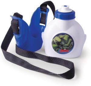 (Prime) Cantil 460 Ml Avengers Hulk Plasútil Azul   R$ 8
